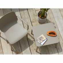 Argo H40 mesa de centro Scab Design apilable tecnopolímero hotel de jardín al aire libre