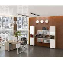 Business Ufficio 2 - Muebles de oficina completos en madera con revestimiento de melamina, hogar, estudio, escuela, hotel